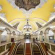 The metro station Komsomolskaya in Moscow, Russia — Stock Photo #25169161