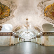 Постер, плакат: The metro station Kievskaya in Moscow Russia