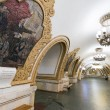 Постер, плакат: Interior of the metro station Kievskaya in Moscow Russia