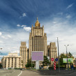 Building of the Ministry of Foreign Affairs in Moscow — Stock Photo #25478273