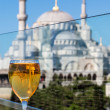 Stock Photo: View of the Blue Mosque from the restaurant, Istanbul, Turkey