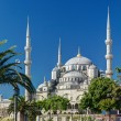 View of the Blue Mosque (Sultanahmet Camii) in Istanbul, Turkey — Stock Photo #26468711
