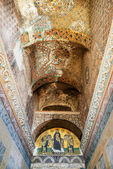 Ceiling of the entrance to the Hagia Sophia in Istanbul, Turkey — Stock Photo