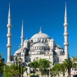 View of the Blue Mosque (Sultanahmet Camii) in Istanbul, Turkey — Stock Photo #26783923