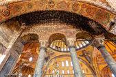 Inside the Hagia Sophia in Istanbul, Turkey — Stock Photo