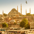 Istanbul on a hot summer day — Stock Photo