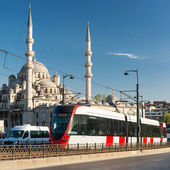 A modern tram in Istanbul, Turkey — Stock Photo