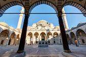 The Suleymaniye Mosque in Istanbul, Turkey — Stock Photo