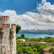 Stock Photo: View of Istanbul from Yedikule Fortress