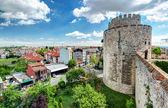 θέα της κωνσταντινούπολης από το επταπύργιο — Φωτογραφία Αρχείου