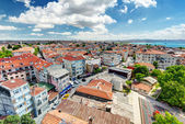 Istanbul. View from Yedikule Fortress — Stock Photo