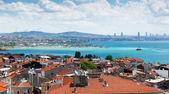 Istambul, vista da fortaleza de yedikule — Foto Stock