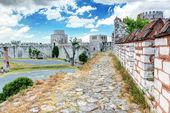 在土耳其伊斯坦布尔的 yedikule 堡垒 — 图库照片