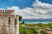 View of Istanbul from Yedikule Fortress — Stock Photo