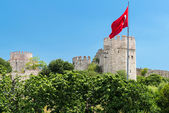 A fortaleza de yedikule em istambul, turquia — Foto Stock