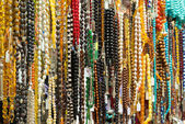 Oriental beads in the bazaar — Stock Photo