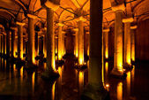 The Basilica Cistern in Istanbul, Turkey — Foto de Stock