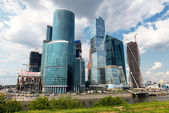 Moscow-city (Moscow International Business Center), Russia — Stock Photo
