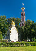 Inside the Novodevichy convent in Moscow — Stock Photo