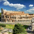 View of the Colosseum in Rome — Stock Photo