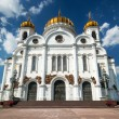 Stock Photo: The Cathedral of Christ the Saviour in Moscow