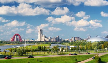 Picturesque region in the north-west of Moscow
