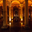 The Basilica Cistern in Istanbul, Turkey — Stock Photo