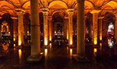 The Basilica Cistern in Istanbul, Turkey — Stock fotografie