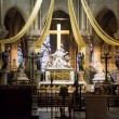 High altar of the Notre Dame de Paris — Stock Photo