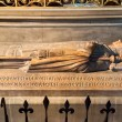 The tomb in the Notre Dame de Paris — Stock Photo