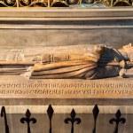 The tomb in the Notre Dame de Paris — Stock Photo