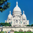 Sacre-Coeur Basilica on Montmartre, Paris — Stock Photo