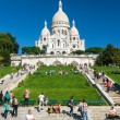 Sacre-Coeur Basilicon Montmartre, Paris — Stock Photo #36208263