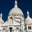 Sacre-Coeur Basilica on Montmartre, Paris — 图库照片