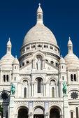 Sacre-Coeur Basilica on Montmartre, Paris — ストック写真