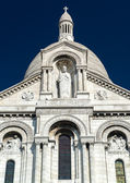 Sacre-Coeur Basilica on Montmartre, Paris — Foto Stock