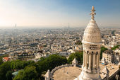 View of Paris from the Sacre Coeur — Stock Photo