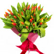 Bouquet of red tulips — Stock Photo #37578285