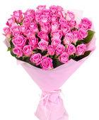 Букет розовых роз — Стоковое фото