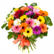 Bouquet of colorful gerberas — Stock Photo #37705481