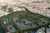 Montparnasse Cemetery in Paris — Foto Stock