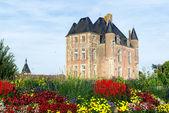 Pittoresco castello nella valle della loira in francia — Foto Stock