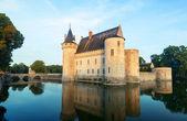 Slottet sully-sur-loire, frankrike — Stockfoto