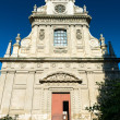 Stock Photo: Old Jesuit church in Blois, France