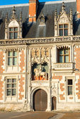 Detail of the exterior of the Chateau de Blois, France — ストック写真