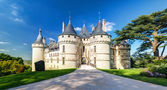 Château de chaumont-sur-loire, frança — Foto Stock