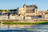Chateau de przepięknej rzeki loire, francja — Zdjęcie stockowe