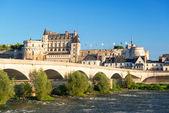 Замок Амбуаз на реке Луаре, Франция — Стоковое фото