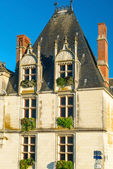 Picturesque house on a street in the town of Amboise, France — Stock Photo