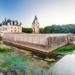 Stock Photo: Chateau de Chenonceau in evening, France